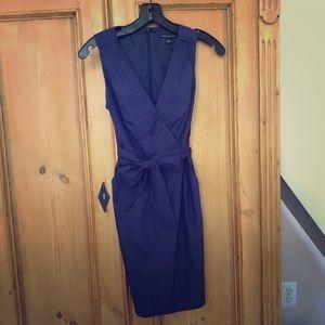 Banana Republic Navy Blue Sleeveless Dress